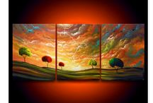 Colorful Landscape Paintings / Beautiful landscapes could attract us in many ways, sometimes a reason of inspiration, or an eye catching nature scene like many more. When it comes to painting, unique combinations of colors make the landscape picture perfect.