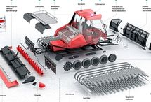 3D Infographics and Technical Illustration for P.M. Magazin