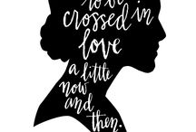 Jane Austen / All things Jane Austen, because who doesn't love her and her books?!