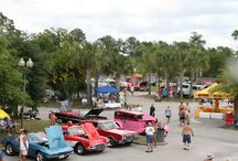 "Bare Bods, Hot Rods Custom & Classic Car Show / The only place in #Florida where you can show off ""all"" of your muscle is at the adults-only #clothing-optional resort #Caliente Resort & Spa."
