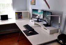 Desk ideas for mancave