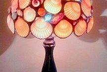 Lamp schelpen Lieuwke
