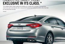 2015 Hyundai Sonata Technology / Check out the latest technology from #Hyundai. See our all new #Hyundai #Sonata. Hands Free Trunk, Touchscreen Navigation,  Rearview Camera, Integrated Bluetooth Technology, Proximity Key, Homelink, Enhanced Bluelink, and More.