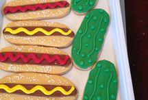 Summertime!  / Summer themed cookies!