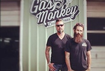 Monkey Business / TV show Gas Monkey / by Peter Lewis
