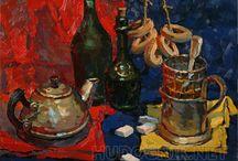 Still Life / Натюрморты - продажа картин маслом. Живопись от художников портала / Продажа натюрмортов маслом, акварелью, карандашом. Купить картины художников.