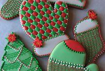 Cookie art Kersfees