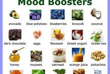 Good mood food / Foods that can help relax and lift your mood or just make you happy!