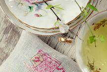 вышивка чашки и баночки