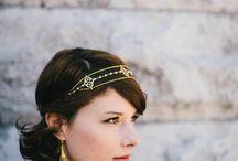 wedding hair dress / by Lili TheBanyanTree