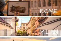 ITALIA CON LA MIA FAMIGLIA