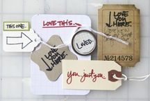 Ali Edwards-Ideas & Stamps / by Debbie Gibson
