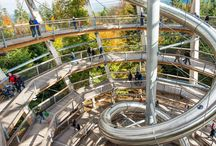 The Top 7 Canopy Walkways in the World / Canopy walkways give you a chance to see the world from a different angle. Get eye-level with primates and bird species, see the forest floor from above, and test your adventurous spirit. These are our top canopy walkways around the world.