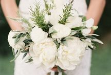 Wedding flowers for bride and bridal party