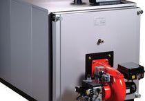 Calderas Industriales / Es todo aparato a presión en donde el calor procedente de cualquier fuente de energía se transforma en utilizable, en forma de calorías, a través de un medio de transporte en fase líquida o vapor