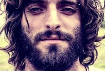 Cool hairstyle / Cool men hair and beard styles
