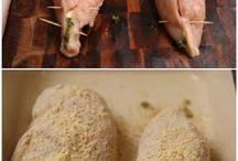 Csirke étel