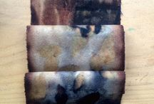 gone rustic eco dyed fabrics