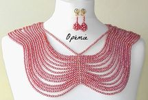 Opémie - Nigerian beads / Beaded statement necklaces for Nigerian brides and guests.