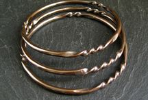 copper wire jewellery