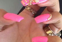 piercings & inlays nail art gallery by nded / piercing nail art gallery & inlays by nded