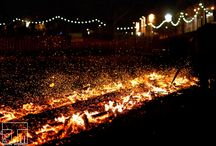 Firewalk, Fri 6 Mar 15 / Huge thanks to everyone who took part in our fundraising firewalk on Friday 6 March 2015. This event raised over £6k in aid of the university of Edinburgh. Thanks again to everyone who hot footed across burning embers and make this event a roaring success.