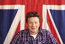 guests of honour / Jamie Oliver god of food and Gordon Ramsey
