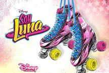 sou luna / patins,personagems