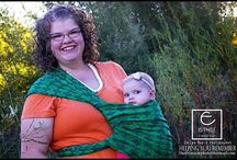 Baby wearing / by Staci Hale-Oakes