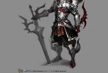 character armor etc..