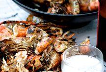 Poissons, crustacés, fruits de mer