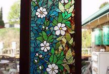 Mozaikowe KWIATY
