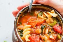 Savoury: Soups