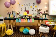 Music party themes
