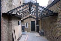 courtyard metal features
