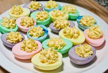 I'll Make You Some Eggs / My deviled eggs are bombastic. I don't brag about much, but yes, my eggs are the best! My recipe doesn't contain relish, mustard or paprika. ~evil grin~  / by Malia Harrington