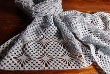sciarpa all'uncinetto (punto ragno) / tutorial per realizzare una sciarpa all'uncinetto a punto ragno