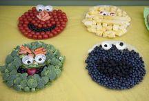 Decorative food displays