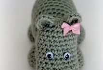 Knitted and Crocheted Toys and home