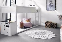 Ikea Kura kids rooms