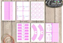 Baby Shower Girl Games With Pink Baby Rattle, Invitations, Decorations and more... / Hi, thank you for visiting this beautiful baby shower board with pink baby rattle theme. Here you can find a lot of baby shower decorations and activities with over 40 listings in this theme.