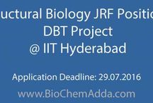 JRF Position / BioChem Adda aims to provide the most trustworthy and transparent information portal related to jobs, careers, education, fellowships, news, articles, and events from the field of BioSciences, Chemistry, and Pharmacy!