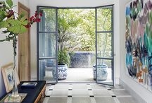 Entry and Hallways / The entry to home is the first glimpse visitors get of your style. Make a statement and make it welcome.