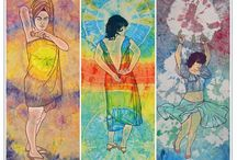 Lisandra Isabel García / Artista cubana contemporánea emergente, con un estilo fresco con toques poperos de los 60's y 70's. / Cuban contemporary emerging artist with a fresh style with pops touches 60's and 70's.