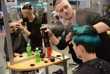 Pokazy fryzjerskie / Nasz fryzjer Damian Kucharczyk w akcji! www.creative-ak.com