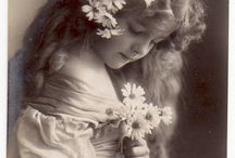 vintage picture of flowers