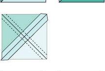Quarter square triangle quilts
