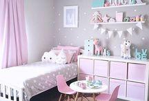 Výzdoba dívčího pokoje