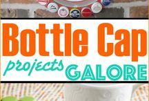 Bottle cap crafts
