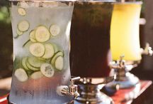 Cold fresh soft drinks